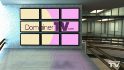 Domainer TV studio